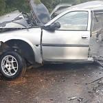 Acidente entre dois carros na PR 151 em Faxinal do Quartins mata jovem de Palmeira_5_ foto rede social WhatsApp