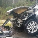 Acidente entre dois carros na PR 151 em Faxinal do Quartins mata jovem de Palmeira_6_ foto rede social WhatsApp