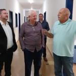 Deputados estaduais Emerson Bacil e Mabel Canto em visita a Santa Casa de Palmeira_1_foto divulgação (4)