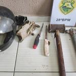 Furto de suínos em Palmeira-2_foto divulgação PM
