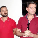 Provedor da Santa Casa Marcos Antonio Bondinhão  e Vagner Augusto Barausse