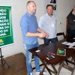 Reunião da Adjori em Palmeira_Prefeito de Palmeira Edir Havrechaki_Elízio Siqueira e Sérgio Jonikaites