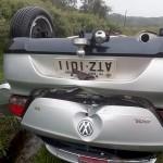 Acidente com 4 veículos na BR-277 em Palmeira deixa um morto e dois feridos graves_fotos rede social WhatsApp (2)