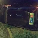 Acidente com três veículos na PR 151 e Rua Padre Anchieta_2