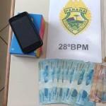 Patrulha Rural da PM recupera fardos de fumo e prende dois por furto e receptação_2_foto Polícia Militar