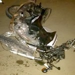 Acidente com moto na PR 151 em São João do Triunfo-2