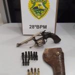 Arma é apreendida pela Polícia Militar no interior de Palmeira-2