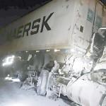 Acidente com dois caminhões na BR-277 deixa duas vítimas feridas gravemente_1