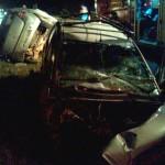 Acidente entre Sandero e Fiesta na BR-277 na Vaca Morta deixa dois motoristas gravemente feridos_3_foto Divulgação