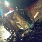 Acidente entre Sandero e Fiesta na BR-277 na Vaca Morta deixa dois motoristas gravemente feridos_4_foto Divulgação
