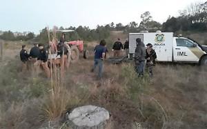 Homem é encontrado morto na cachoeira da Vila Monjolo com tiro na cabeça_foto reprodução Rede Clima