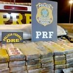 PRF e PF realizam apreensão de cerca de 500 Kg de cocaína em São Luiz do Purunã_1_foto PRF