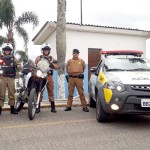 Palmeira recebe policiamento com motos_2_foto PM