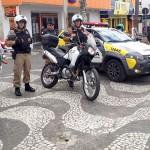 Palmeira recebe policiamento com motos_3_foto PM