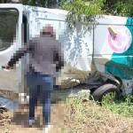 Acidente  na PR 151 entre veículos_caminhão e ambulância_fotos redes sociais (1)