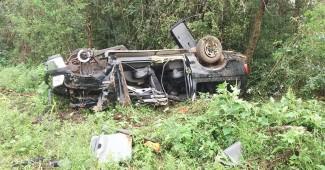 Capotamento de F250 na BR 277 causa a morte de motorista e deixa vários feridos_foto rede social_1