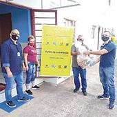 _Ação solidária distribui 236 cestas de alimentos da agricultura familiar em Palmeira e São João do Triunfo-Divulgação
