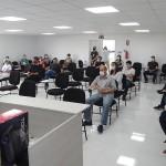 Profissionais da Saúde participam de treinamento de protocolo da Covid_4_foto Moacir Guchert