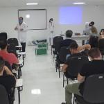 Profissionais da Saúde participam de treinamento de protocolo da Covid_home_foto Moacir Guchert